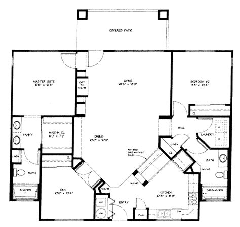 vistoso resort casita floor plan model