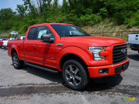 ford truck red 2015 ford f150 xlt supercab 4x4 in race red b05739