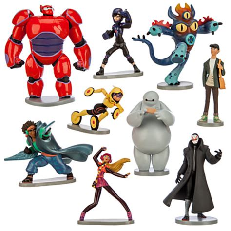 Big 6 Figure the toys for this season are big 6 and