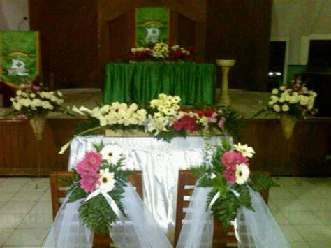keiko florist dekorasi pemberkatan pernikahan  gereja