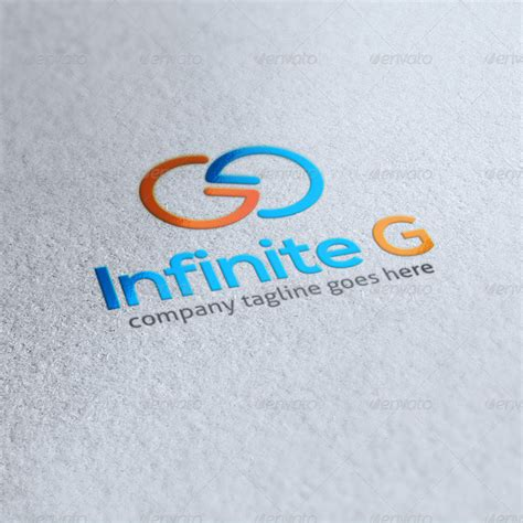 Letter Infinite Infinite G Letter G Logo By Orsted46 Graphicriver