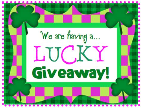 Lucky Giveaways - lory s 2nd grade skills lucky giveaway closed