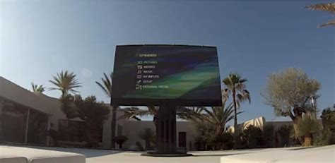 Porsche C Seed by Porsche Design C Seed 201 Television Installed In Ibiza
