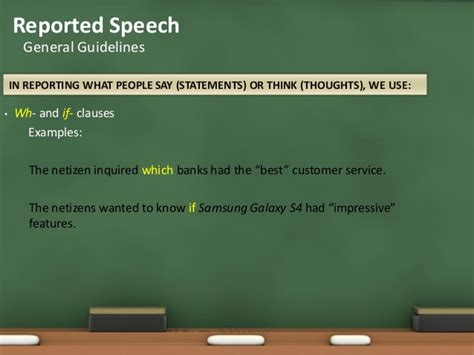 best speech guidelines guidelines in writing a reported speech