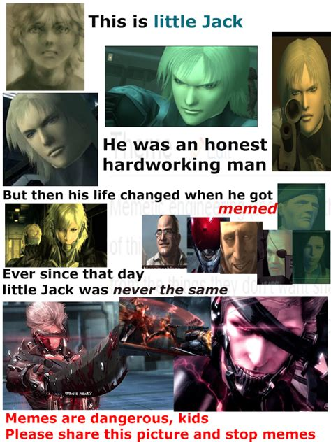 Metal Gear Rising Memes - memes are bad for you boys and girls metal gear rising