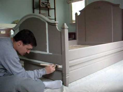 How To Paint A Bed by Bed Painting Wmv