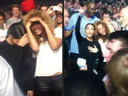 beyonce and jay z insult kim kardashian and kanye west beyonce and kim kardashian party like bffs