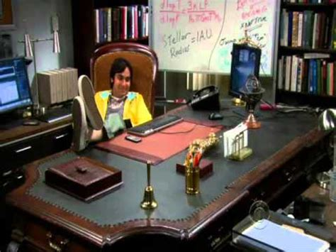 Raj Desk Sheldon Office Sheldon Vs Raj