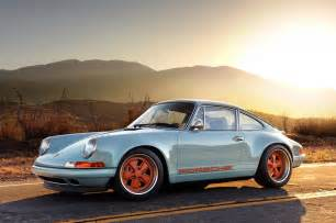 Stinger Porsche Porsche 911 Two Tone Classic Side Stripes Logo Decal