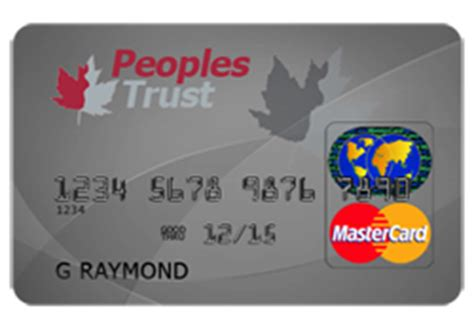 peoples trust secured mastercard credit card review