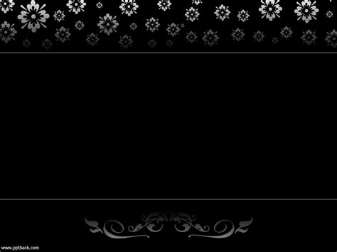 black powerpoint template powerpoint background designs black and white