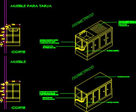 kitchen furniture dwg section  autocad designs cad