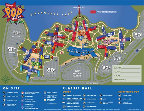 all resort map preferred rooms pop century preferred room or aoa mermaid room orlando forum tripadvisor