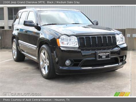 2006 Jeep Grand Srt8 Black 2006 Jeep Grand Srt8 Medium Slate Gray