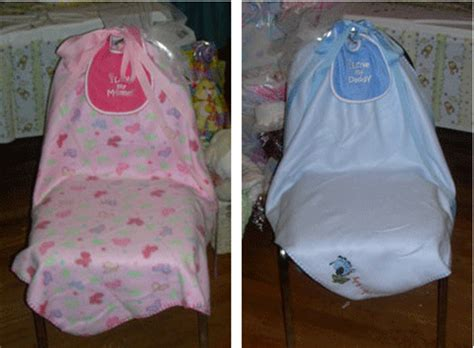Diy Baby Shower Chair by Baby Shower Decorating Ideas Thriftyfun