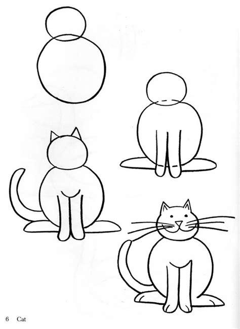 dibujos realistas muy faciles fichas para aprender a dibujar animales fichas para imprimir