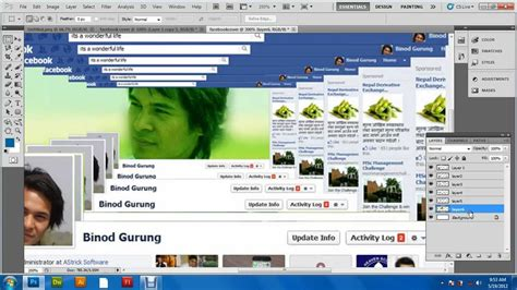 youtube layout timeline facebook timeline cover awesome photo design using