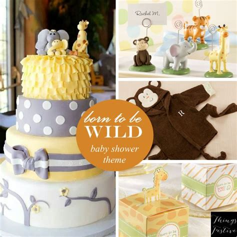 Neutral Themed Baby Shower by Baby Shower Theme Idea Born To Be Baby Shower