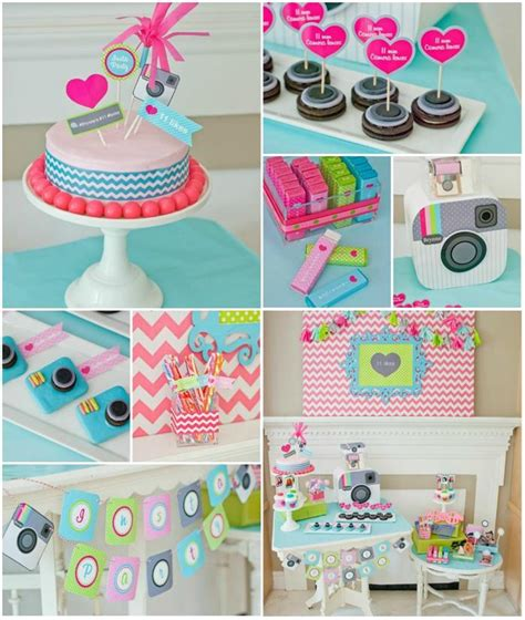 cute themes for instagram instagram inspired party with lots of cute ideas via kara