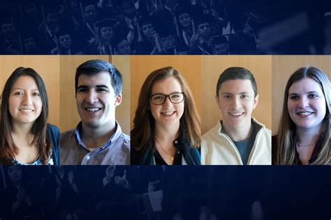 Uconn Mba Class Profile by Senior Business Students Pause Reflect As Commencement