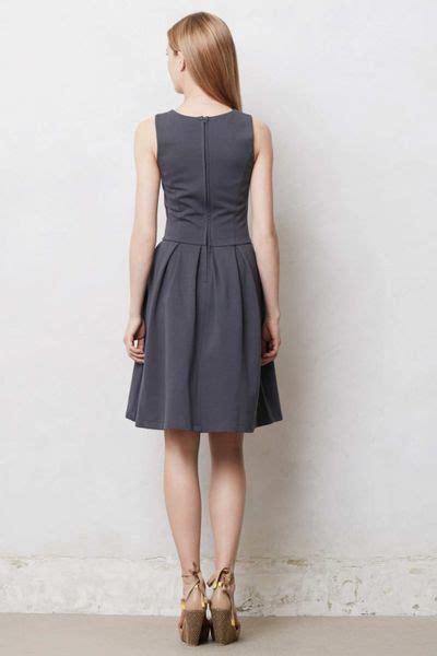 anthropologie swing dress anthropologie minerve swing dress in gray dark grey lyst