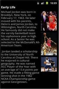 Michael Jordan Biography Biography Michael Jordan App For Android
