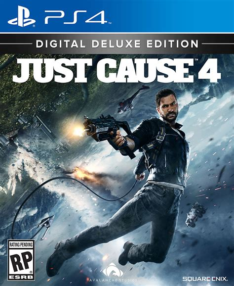 Just For 4 just cause 4 ps4 playstation