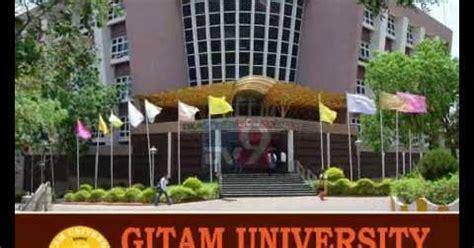 Gitam Mba Entrance by Gitam Distance Education Mba Admission Fee 2018