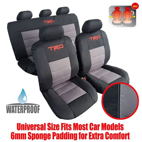 cool awesome new complete set 9pcs waterproof car seat