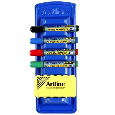 Artline Shirt Marker Spidol Kaos artline whiteboard marker caddy holder includes eraser