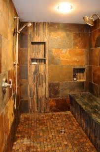 custom walk in tile shower casa sol naciente