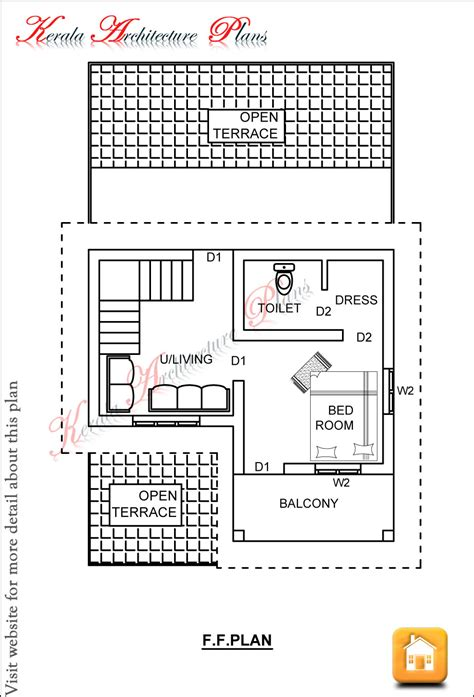 floor plans for 1300 square foot home 1300 square feet house plans kerala home deco plans