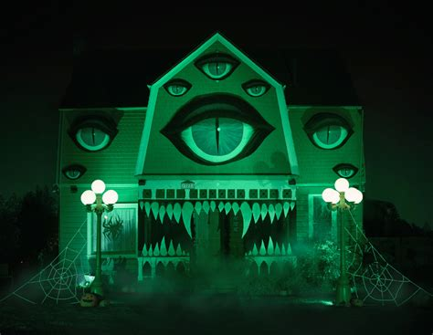the monster house artist transforms her parents home into a haunted monster