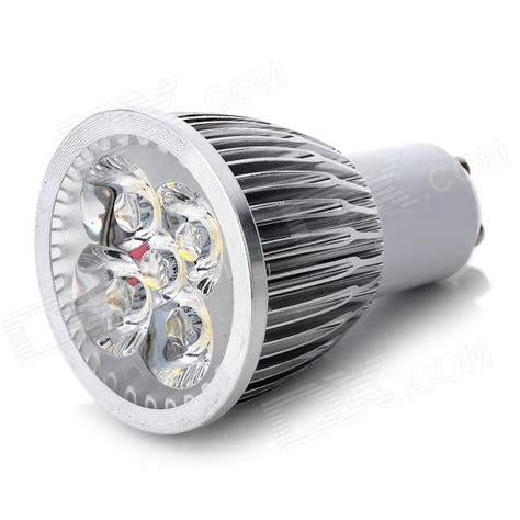 Gu10 5w Led Light Bulbs Gu10 5w 450lm 3500k Warm White 5 Led Light Bulb Silver 85 245v Free Shipping Dealextreme