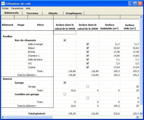 calcul surface utile bureaux surface utile surface utilisable