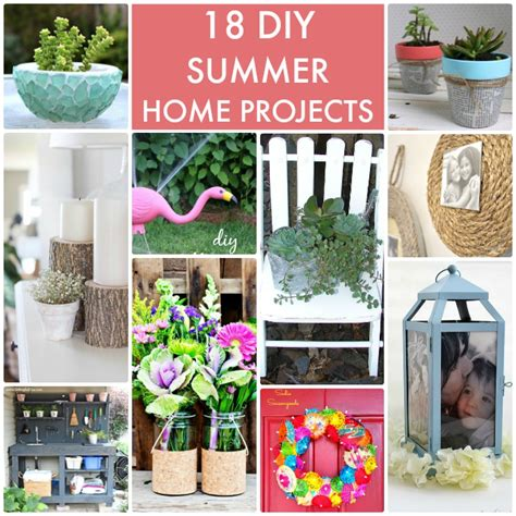 diy summer decorations for home great ideas 18 diy summer home projects