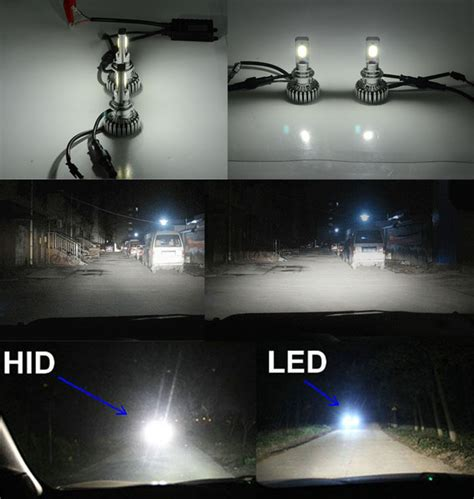 h7 len 80 watt most brightness 2500lm led car headlight kit h4 h7 h8 h9
