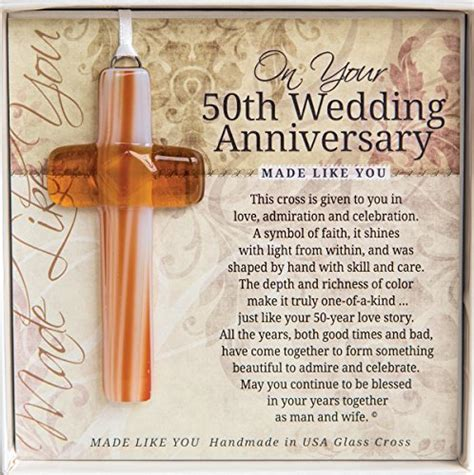 50th Wedding Anniversary Gifts Religious by Christian Anniversary Gifts