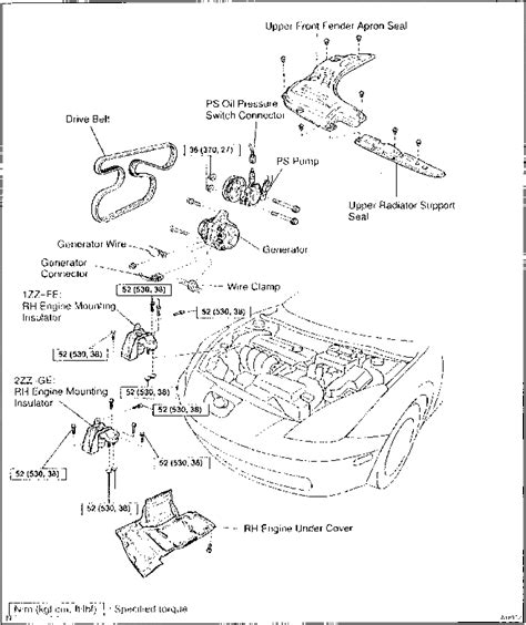 motor repair manual 2000 toyota avalon head up display how to remove crankshaft timing pulley on 2000 toyota celica gts toyota celica 2000 repair