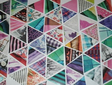 project collage template design projects bess bag triangles collage back to school diy
