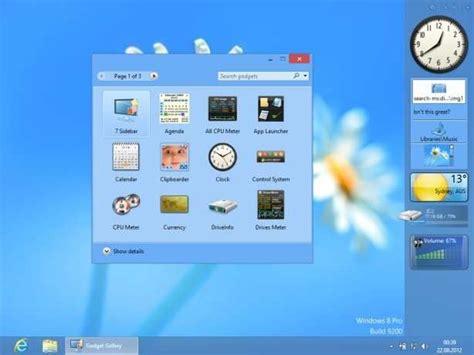 Calendar Desktop Widget Windows 8 Windows 8 Desktop Gadgets Nachr 252 Sten Freeware De