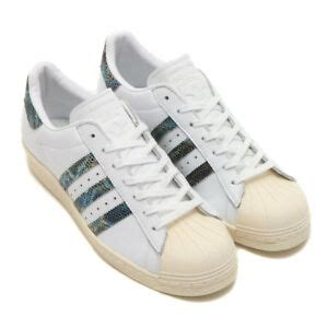 adidas originals superstar 80s leather white snakeskin mens shoes size 10 bz0148 190309454175 ebay