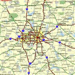 map for dallas maps