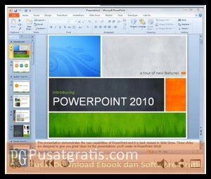 tutorial powerpoint 2010 gratis tutorial microsoft office 2010 2007 dan 2003 gratis dari