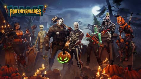 fortnite pictures fortnite gets spooky with fortnitemares update n3rdabl3