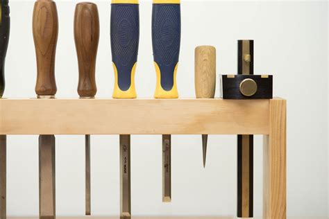 Chisel Rack by Beginners Woodworking Project Diy Chisel Rack One Wood