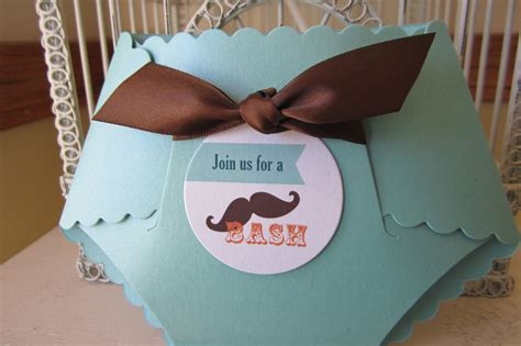 Baby Shower Mustache Theme by Mustache Theme Baby Shower Custom Die Cut By