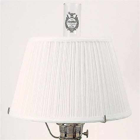 Aladin Pleats white cloth pleated l shade l shades lehman s