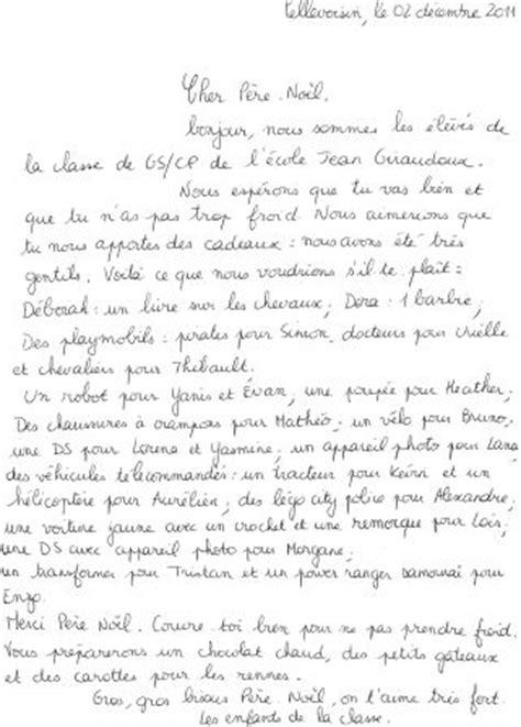 Exemple Lettre Au Pere Noel Pour Adulte Du Rpi Heugnes Pellevoisin Page 2