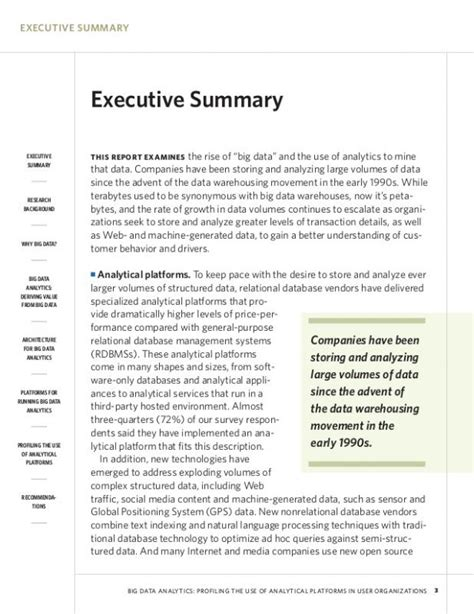 Copy Of Research Paper by Exle Of An Executive Summary Template Business